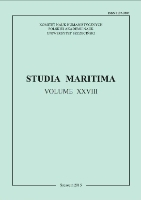 Studia Maritima. 2015, Vol. 28