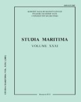 Studia Maritima. 2018, Vol. 31