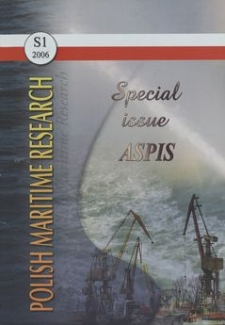 Polish Maritime Research. Specjal Issue 2006/S1