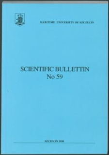 Scientific Bullettin. Maritime University of Szczecin. 2000, No 59