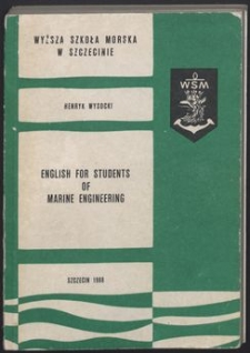 English for students of marine engineering