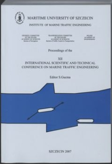 12. XII International Scientific and Technical Conference on Marine Traffic Engineering