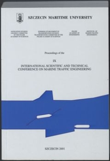 9. IX International scientific and technical conference on marine traffic engineering