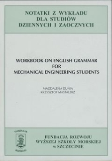 Workbook on english grammar for mechanical engineering students